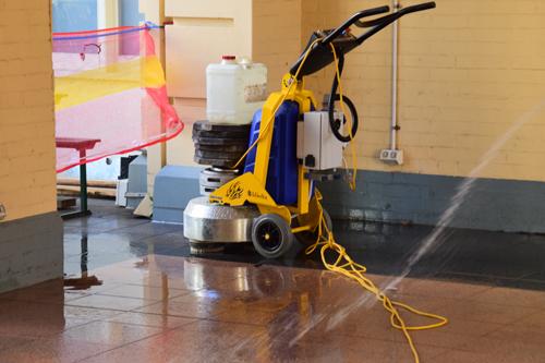 Floor grinding